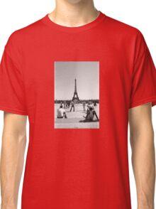 Eiffel Tower. Paris. France. Football ® Classic T-Shirt