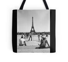 Eiffel Tower. Paris. France. Football ® Tote Bag