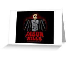 Jason kills Greeting Card