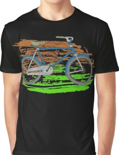Bike - Bicycles - Rideable Art Graphic T-Shirt