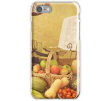 Autumn Harvest iPhone Case/Skin
