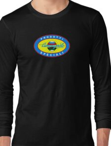 Vintage Classic Campagnolo Blue Oval Logo Long Sleeve T-Shirt