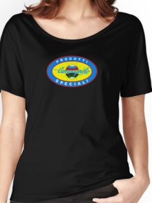 Vintage Classic Campagnolo Blue Oval Logo Women's Relaxed Fit T-Shirt
