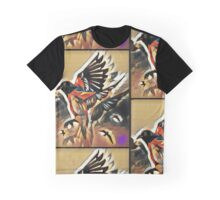 Fly Away Birdy Graphic T-Shirt