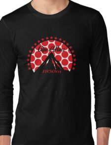 Alpe d'Huez (Red Polka Dot) Long Sleeve T-Shirt