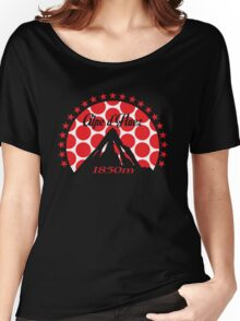 Alpe d'Huez (Red Polka Dot) Women's Relaxed Fit T-Shirt