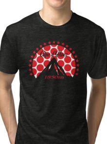 Alpe d'Huez (Red Polka Dot) Tri-blend T-Shirt