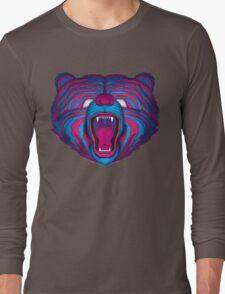 Psychedelic Bear Long Sleeve T-Shirt