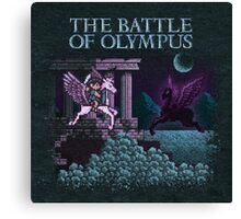 The Olympus of Battle Canvas Print