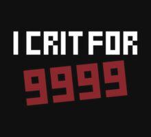 I Crit for 9999 Kids Tee
