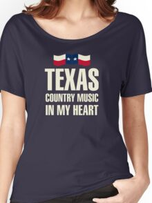 Texas country music Women's Relaxed Fit T-Shirt