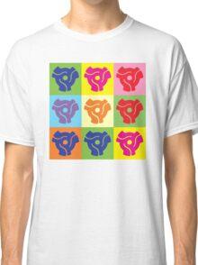 45 Record Holder Pop Art 2 Classic T-Shirt