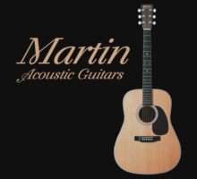 Martin acoustic guitars Kids Tee