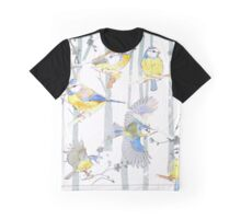 Bluetits in the forest Graphic T-Shirt