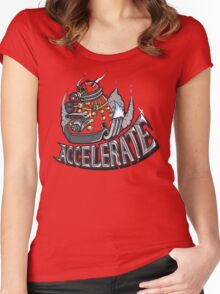 V8 ACCELERATE Women's Fitted Scoop T-Shirt