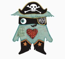 Pirate Monster One Piece - Short Sleeve