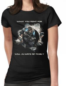 GOW Logo Quote Womens Fitted T-Shirt
