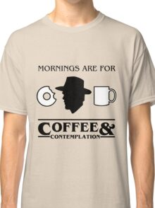 Stranger Things : Coffee & Contemplation Classic T-Shirt