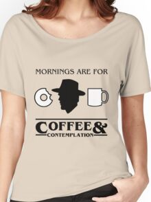 Stranger Things : Coffee & Contemplation Women's Relaxed Fit T-Shirt