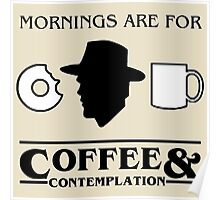 Stranger Things : Coffee & Contemplation Poster