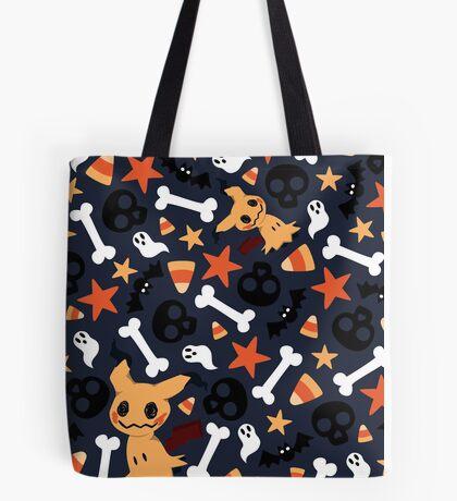 Mimikyu's Spooky Halloween! Tote Bag