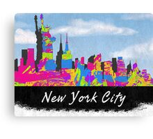 New York City, New York Skyline Canvas Print
