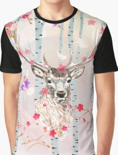 The deer in the forest Graphic T-Shirt