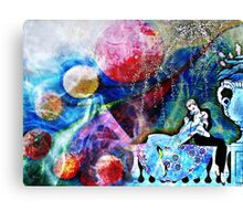 SWEPT AWAY BY FORBIDDEN LOVE Canvas Print
