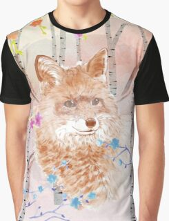 The fox in the forest Graphic T-Shirt