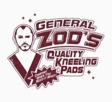 Superman General Zod Kneeling Pads Krypton Kids Clothes