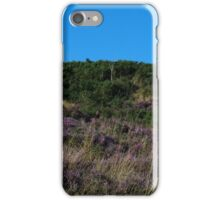 Purple Heather Covering Hednesford Hills iPhone Case/Skin
