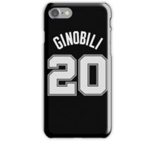 Manu Ginobili iPhone Case/Skin