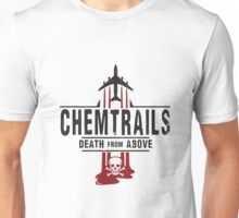 Jet Chemtrails Red & Grey Logo Unisex T-Shirt