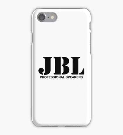 JBL (black) iPhone Case/Skin