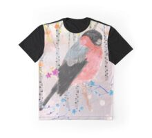 Bullfinch in the forest Graphic T-Shirt