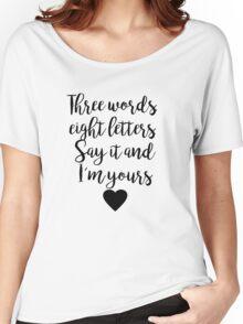 Gossip Girl - Three Words Women's Relaxed Fit T-Shirt