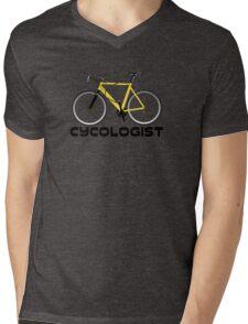 Cycologist Mens V-Neck T-Shirt