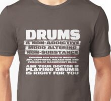 Drums T Shirt for drummers Unisex T-Shirt