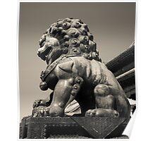 Guardian Lion Poster