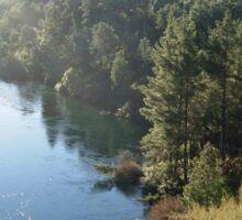 Beautiful River in New Zealand Sticker