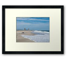 Good day at Rehoboth Beach Framed Print