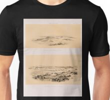 0001 Abu Roasch Abû Rawwâsh Site Pyramiden auf der Höhe von Osten Pyramiden auf der Höhe von Westen Unisex T-Shirt
