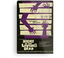 Night Of The Living Dead Metal Print
