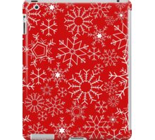 Christmas snowflakes iPad Case/Skin
