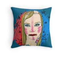 Unflagged Throw Pillow