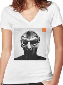 Madvillainy Women's Fitted V-Neck T-Shirt