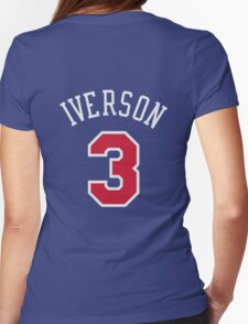Allen Inverson Womens Fitted T-Shirt