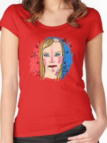 Unflagged Women's Fitted Scoop T-Shirt