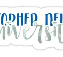 Christopher Newport University - Style 1 Sticker