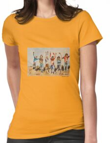 All Together Now... Womens Fitted T-Shirt